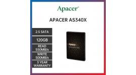 "НОВЫЙ Apacer AS340X 120GB 2.5"" SATAIII 3D NAND"
