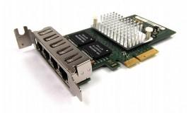 бу сисетевая карта Fujitsu D2745-A11 GS1 (i340 T4) gigabit Quad port