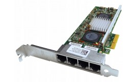 бу сетевая карта Broadcom 4х порта DELL 0R519P Quad Gigabit