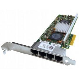 бу сетевая карта Broadcom 4х порта DELL 0R519P Quad Gigabit