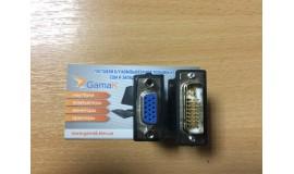 Новый DVI-VGA 24+5,
