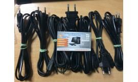 бу кабель питания 220V 2-pin