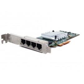 бу сетевая карта HP NC365T gigabit Quad port
