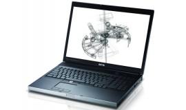 бу ноутбук DELL Precision M6500 i5\8 Gb DDR3\2*500 SATA\17.3 (1920*1200) IPS\Quadro FX2800m