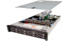 бу сервер DELL Poweredge r720 2*E5 2640 (12 ядер\24 потока)\48 GB RAM\4*600 gb SAS
