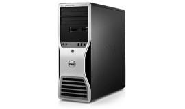 бу DELL WorkStation T3500 (Quad XEON \ 12 Gb DDR3 !) Video 1 Gb 64 Bit