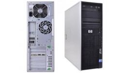 бу HP Workstation z400 XEON W3520 4 ядра\8 DDR3\250Gb\raid on board