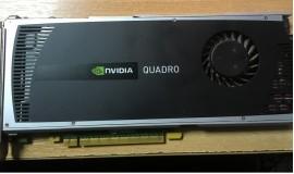 бу видеокарта Quadro 4000 2 gb\256 bit